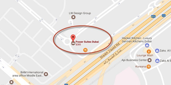Fraser Suites Hotel and Apartments Dubai