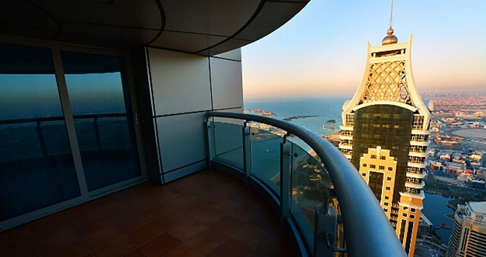 Liketobook Dubai Holiday Rentals Princess Tower Penthouse With Sea View