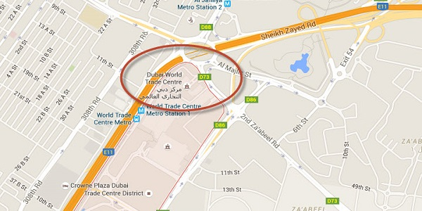 Penthouse apartments dubai in trade centre 2 location map of trade centre 2 dubai gumiabroncs Choice Image