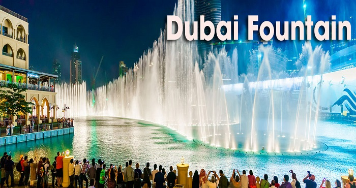 Visit The Dubai Fountain